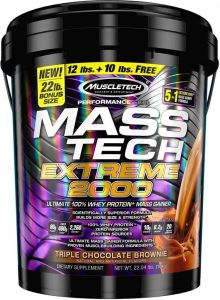 MuscleTech Mass Tech Extreme 2000 22 Lbs