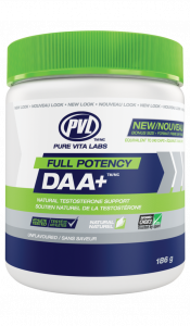 PVL Full Potency DAA+ - Natural Trusted For Sport Testosterone Booster
