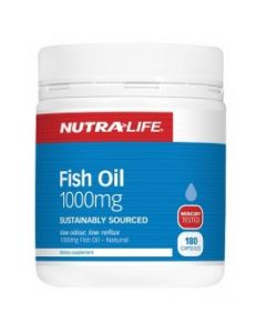 Nutra-Life Omega 3 Fish Oil 1000mg 180caps