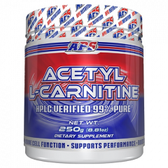 APS Acetyl L-Carnitine Powder 250g