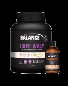 Balance 100% Whey Natural 1.5kg