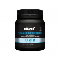 Balance 100% Pure Micronized Creatine 250grams