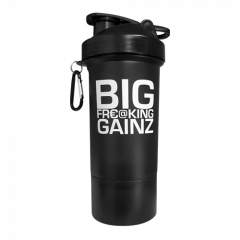 Muscletech 2 in 1 Big Gainz Shaker 600ml