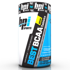 BPI Sports Best BCAA 120 Tablets
