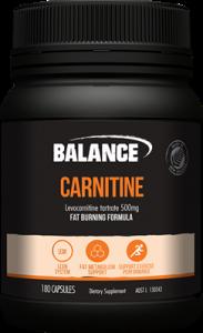 Balance Carnitine Value Pack 180caps