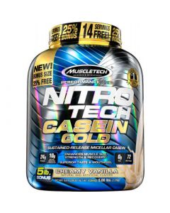 MuscleTech Nitro-Tech Casein Gold 5lb