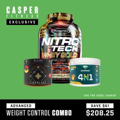 Casper Fitness Advance Weight Control Combo