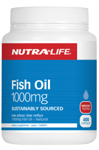 Nutra-Life Omega 3 Fish Oil 1000mg 400 caps