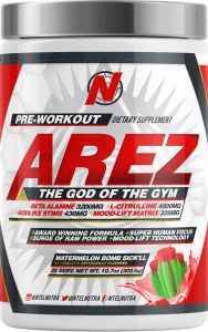 Arez God of The Gym Pre-Workout