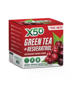 Green Tea x50 + Revesatrol 60 Serve