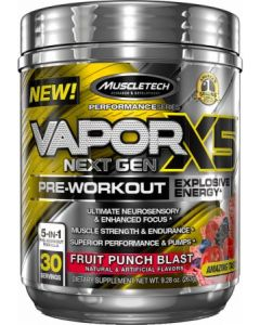 Muscletech Vapor X5 Next Gen Pre-Workout 30 Serve