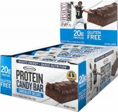 MT Protein Candy Bar Chocolate Fudge 12x60g
