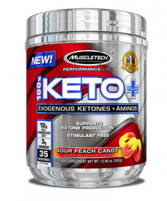MuscleTech 100% Keto Plus Aminos 35 Serve
