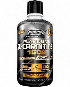 MuscleTech Platinum 100% L-Carnitine 1500 31 Serve
