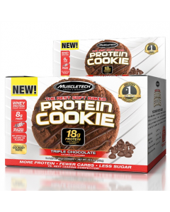 Muscletech Protein Cookies Box of 6