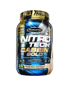 MuscleTech Nitro-Tech Casein Gold 2.5lb