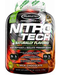 Nitro-Tech Naturally Flavoured 4lb