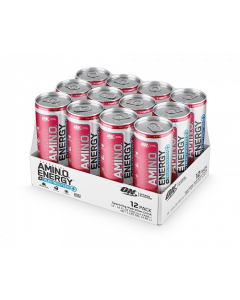 Optimum Nutrition Amino Energy RTD Carbonated Case of 12