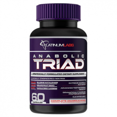 Platinum Labs Anabolic Triad 60 caps