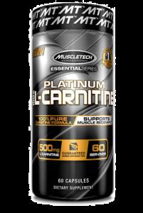 Muscletech Platinum 100% Carnitine 180cap