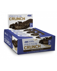 Optimum Nutrition Protein Crunch Bar x12