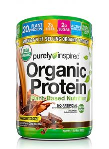 Purely Inspired Organic Plant Based Protein 1.5lb - Contains Added Fruit & Veges