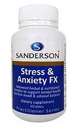 Sanderson Stress & Anxiety FX 60tabs