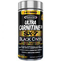 Muscletech SX-7 Black Onyx Ultra Carnitine 3X 120ct