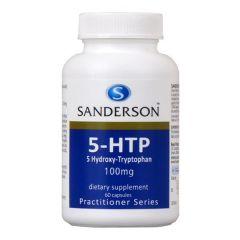 Sanderson 5-HTP 100mg 60caps