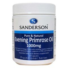 Sanderson Evening Primrose Oil 1000mg 220caps