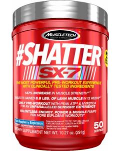 MuscleTech Shatter SX-7 Pre Workout 50 Serve