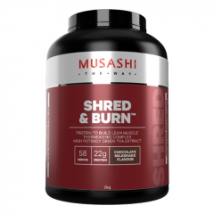 Musashi Shred and Burn Protein 2kg