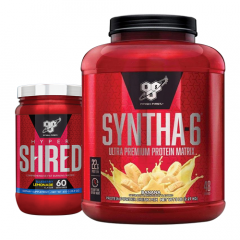 BSN Syntha-6 5lb + HyperShred 60 Serve  Combo