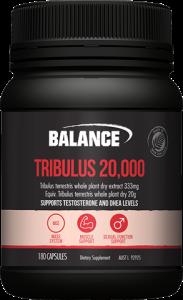 Balance Tribulus 20,000 180caps - Value Pack