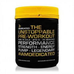Dedicated Nutrition Unstoppable V2 Pre-Workout 50 Serve