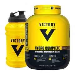Victory Labs Hydro Complete Isolate 4lb + Jug Combo