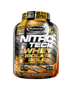 MuscleTech Nitro-Tech Whey+Isolate Gold 4lb