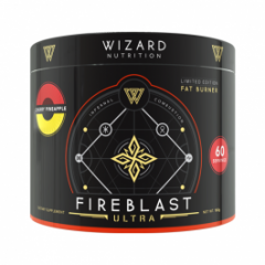 Wizard Nutrition FireBlast Fat Burner Ultra - Limited Edition Powder 60 Serve