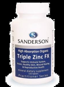 Sanderson Triple Zinc FX 100 Tabs