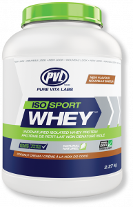 PVL Grass Fed Sports Isolate Whey 5lb