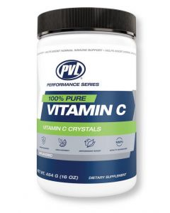 PVL  Pure Vitamin C Crystals - Massive 824 Serve