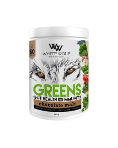 White Wolf Nutrition Greens Gut Health & Immunity 60 Serve