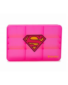 Licensed Chest Supergirl Pill Container/48 CS