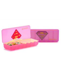 Licensed Weekly Supergirl Pill Container/48 CS