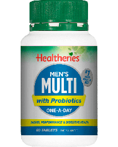 Healtheries Mens Multi + Probiotic 60 Tablets