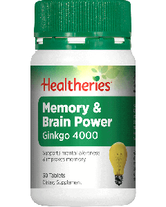 Healtheries Memory & Brain Power 30 Tab