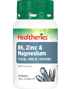 Healtheries B6 Zinc & Magnesium 90 Tab