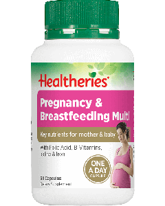 Healtheries Pregnancy & Breastfeeding Multi 60 Cap