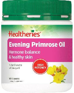 Healtheries Evening Primrose Oil 1000mg 180 Cap