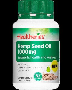 Healtheries Hemp Seed Oil Capsule 60 Cap
